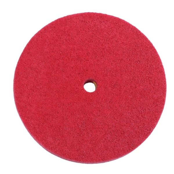 200mm Dia Nylon Abrasive Grinding Polishing Buffing Wheel Red