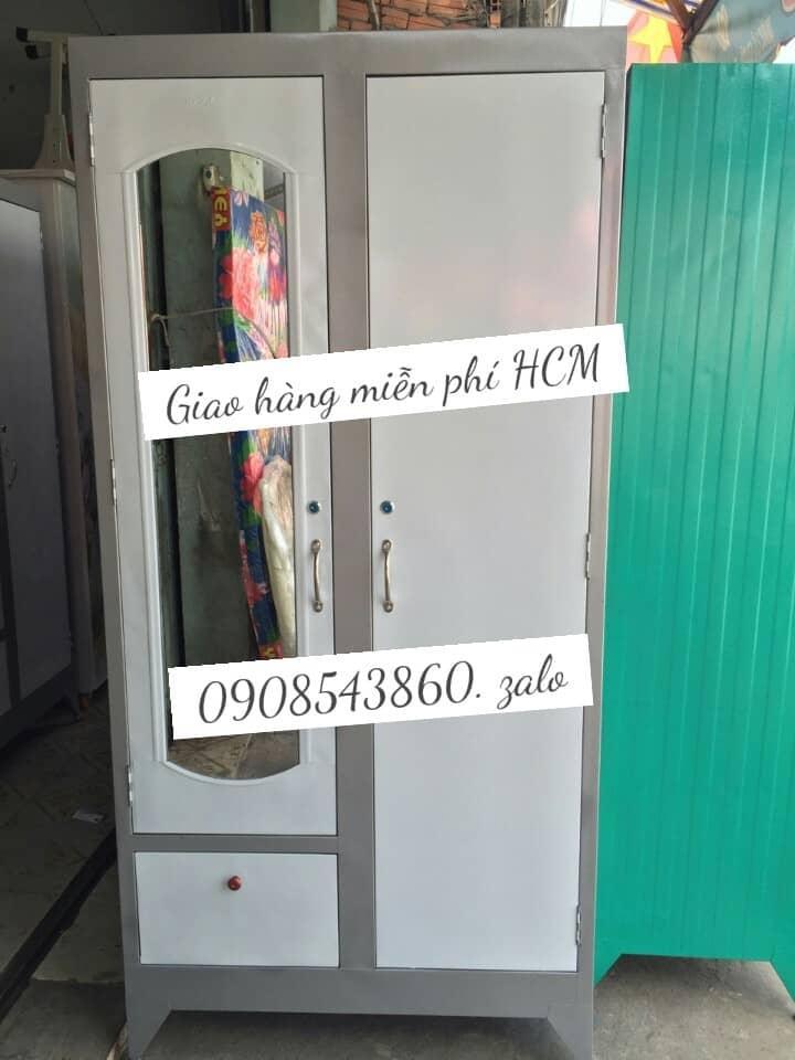 Tủ Sắt đựng Quần áo Giá Rẻ 1m8 X90cm Siêu Giảm Giá