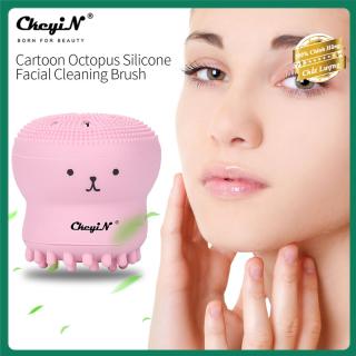 Silicon rửa mặt mini CkeyiN an toàn cho da giúp rửa mặt sạch loại bỏ mụn đầu đen không gây kích ứng vừa làm sạch vừa mát xa cho mặt thumbnail