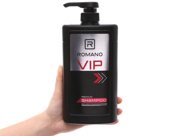 Dầu gội Romano VIP hương nước hoa cao cấp 650g giá rẻ