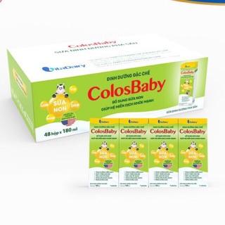 Thùng 48 hộp sữa nước colosbaby 180ml thumbnail