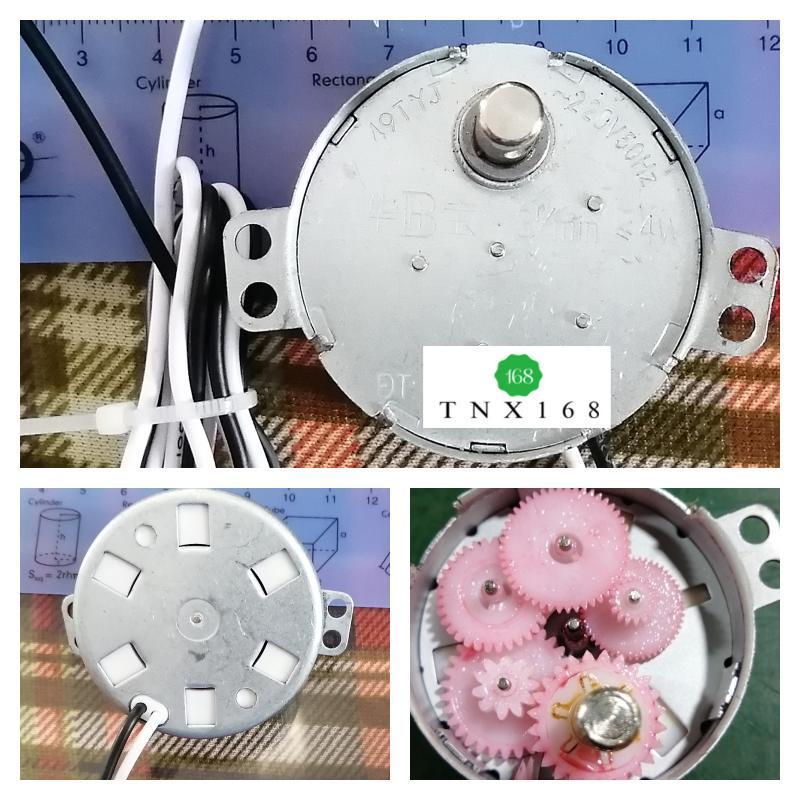 Motor chuyển hướng quạt 3 rpm - 49TYJ
