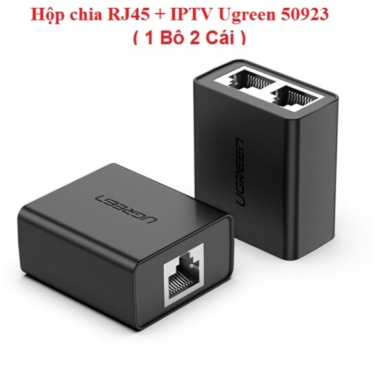 Bảng giá Hộp chia RJ45 + IPTV Ugreen 50923 (Bộ 2 cái) Phong Vũ