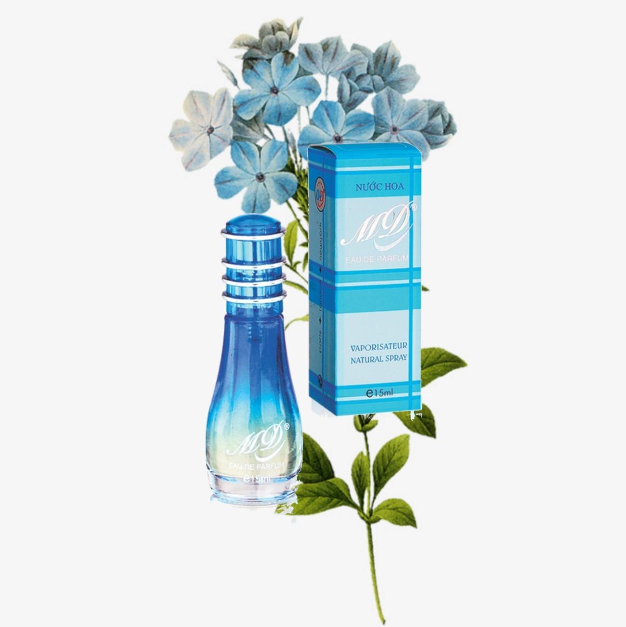Nước hoa MD 15ml - Màu xanh