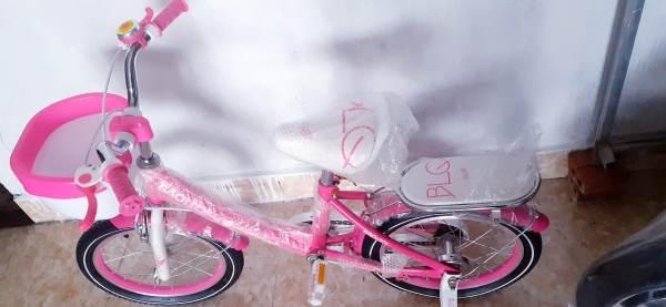 Mua Xe đạp cho bé gái từ 5 đến 7 tuổi size 16 BAOLEOI