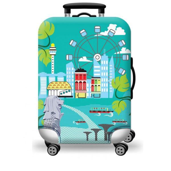 [Lấy mã giảm thêm 30%]Túi bọc bảo vệ vali -Áo vỏ bọc vali - HPValiOEM