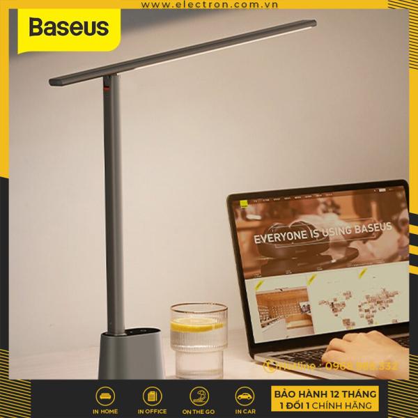Bảng giá Đèn để bàn thông minh Baseus Smart Eye Series Charging Folding Reading Desk Lamp (Cảm biến ánh sáng tự động, pin sạc, 3000k - 6000k Full-Spectrum, Foldable and Rechargeable Reading Lamp)
