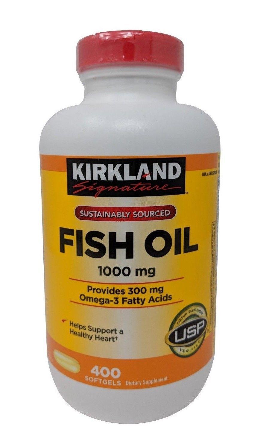 Omega 3 Fish Oil 1000mg Kirkland Của Mỹ
