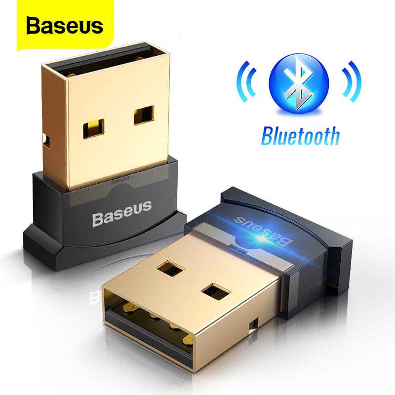 Baseus Bộ thu/chuyển đổi âm thanh USB mini không dây Bluetooth 4.0 dành cho máy tính để bàn máy tính xách tay - INTL