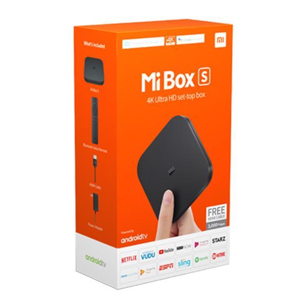 Android Tivi Box Xiaomi Mibox S 4K Global Quốc Tế (Android 8.1) digiworld phân phối - Shop thế giới gia dụng 4.0