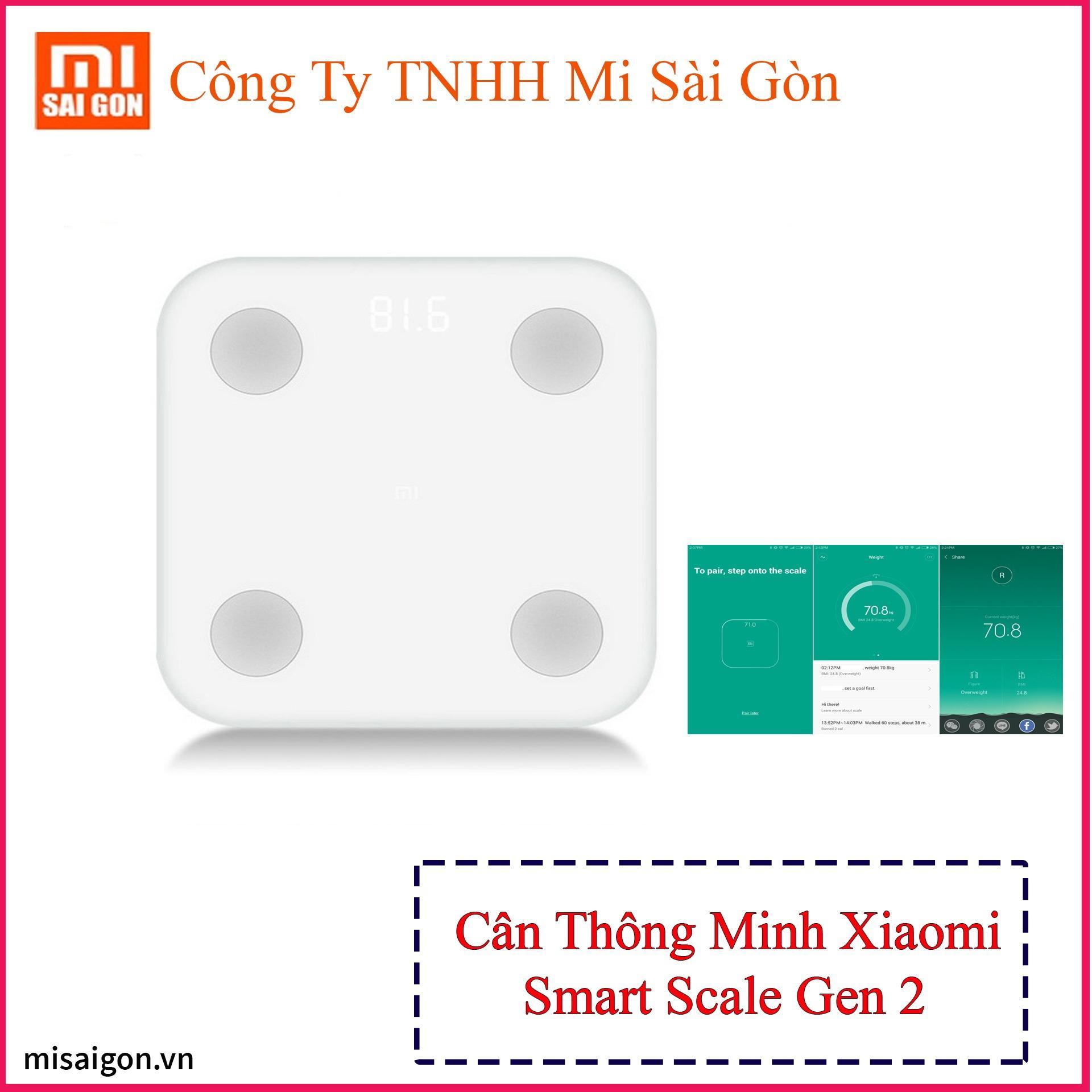 Cân Thông Minh Xiaomi Smart Scale Gen 2