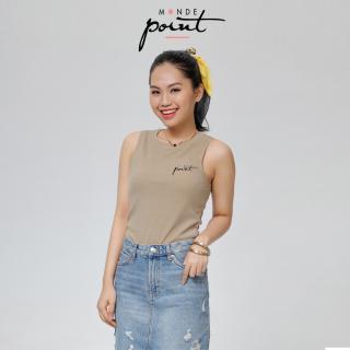 Áo t-shirt nữ Monde Point MPWA06104000 màu cà phê, kiểu dáng nữ tính, màu sắc trang nhã, dễ phối với nhiều trang phục, phụ kiện khác nhau thumbnail
