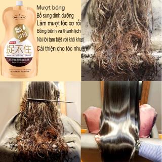 Mặt nạ tóc dưỡng ẩm, cải thiện khô xơ, giúp phục hồi tóc hư tổn, dưỡng tóc, giúp tóc mềm mượt óng ả. thumbnail