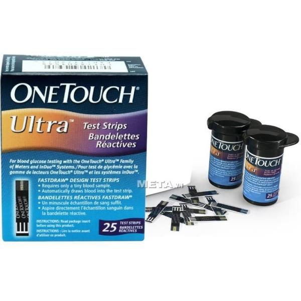 Nơi bán Que Thử Đường Huyết Onetouch Ultra 2 (Hộp 25 Que)
