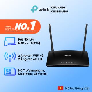 Router wifi 4G TP-Link - Bộ phát wifi 4G LTE Chuẩn N tốc độ 300 Mbps TL-MR6400 - Router wifi chính hãng TP-Link bảo hành 2 năm 1 đổi 1 thumbnail