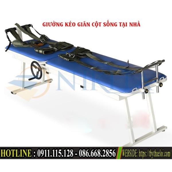 [GIẢM GIÁ] Giường kéo giãn lưng và cổ - loại tay quay cao cấp cao cấp