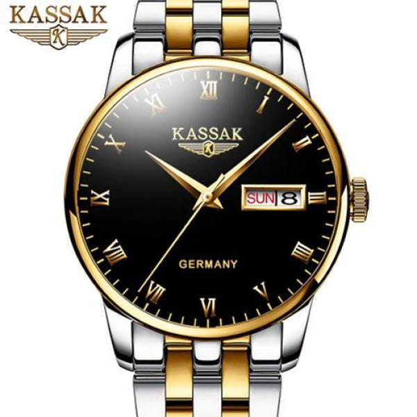 Nơi bán Đồng hồ Nam KASSAK HAMISH - Dây Đúc Đặc & Khóa Bướm