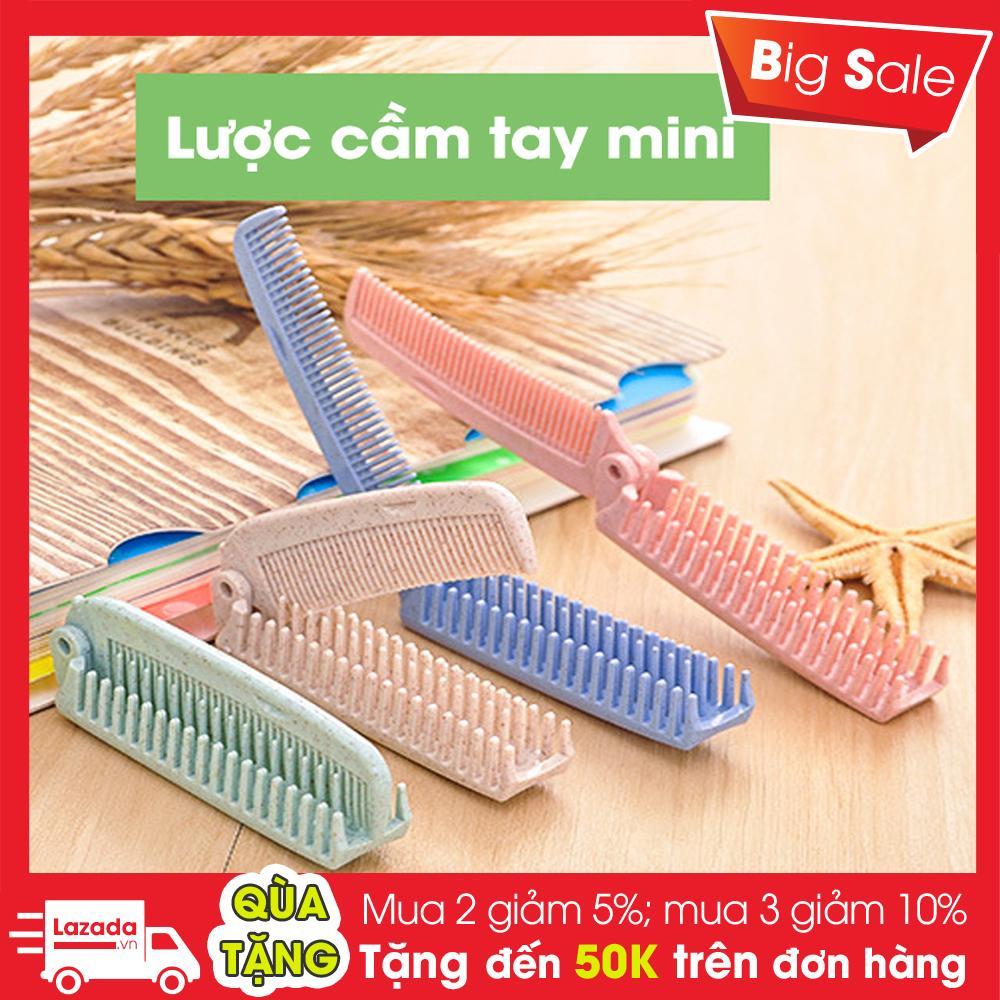 Lược Chải Tóc Mini Bỏ Túi - Chất Nhựa Đẹp nhập khẩu