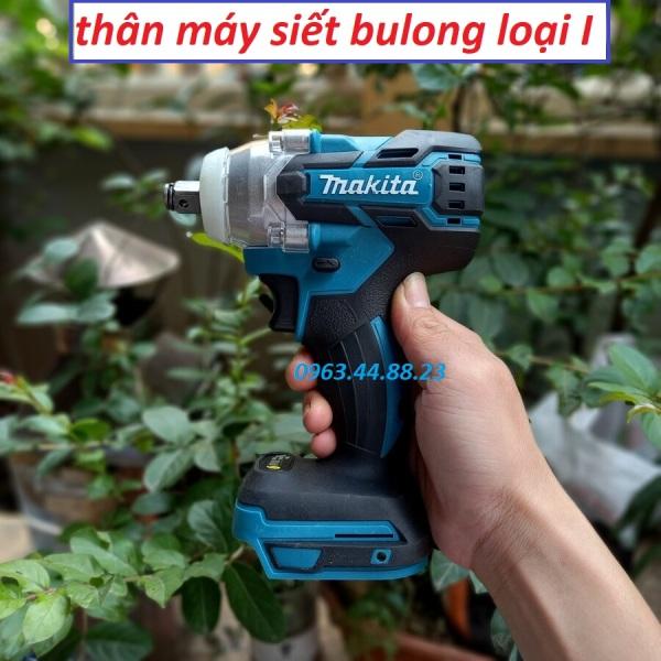 Thân máy siết bulong Makita không chổi than đầu 2 trong 1, 100% lõi đồng