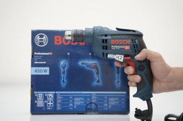Máy Khoan Bosch GBM 10RE 450W - Momen xoắn tối đa 14Nm - Siêu nhẹ chỉ 1,3kg