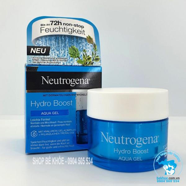 Neutrogena Hydro Boost Aqua Gel & Gel Cream - Kem Dưỡng Ẩm, Cấp Nước Dạng Gel 50Ml