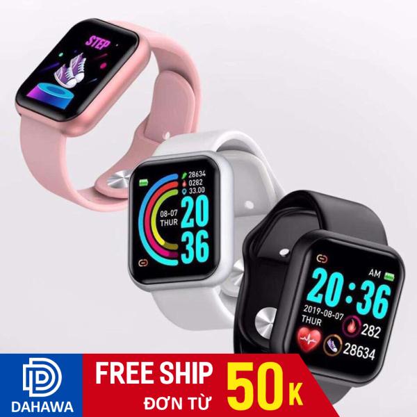 Đồng hồ thông minh Smart Watch Y86 cực hot, mặt đồng hồ cảm ứng, hiển thị đa chức năng, dây chất liệu TPU cực bền bán chạy