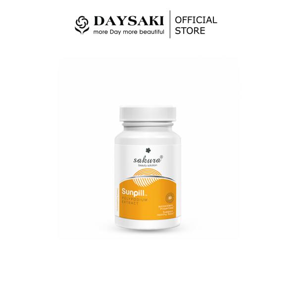 [HCM]Sakura SunPill Viên Uống Chống Nắng Sinh Học Toàn Thân 30V