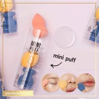 Set 3 Bông Mút Đánh Kem A Pieu Mini Puff Collection thumbnail
