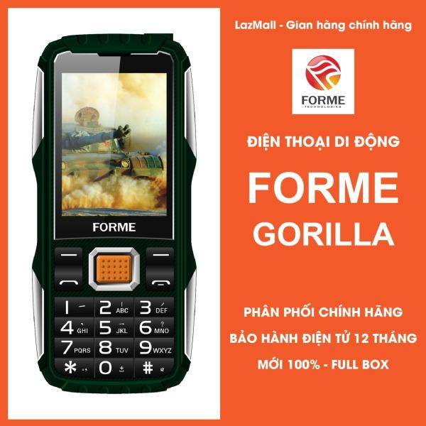 Điện Thoại Di Động Forme Gorilla, màn hình 2.4inch, Pin 2500mAh, Loa to rõ, font chữ lớn - Phân phối chính hãng