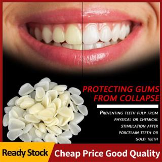 [Globedealwin]70 Cái túi Nhựa Phía Trên Tạm Thời Răng Vương Miện Cho Chăm Sóc Răng Miệng (Màu Vàng + Phía Trên) thumbnail
