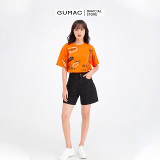 Áo thun nữ in chữ GUMAC ATB611 thumbnail