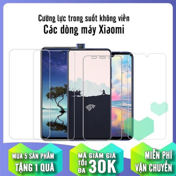 (MUA 1 TẶNG 1) Cường lực Trong Suốt cho các dòng máy Xiaomi Poco X3 / Redmi Note 9S / Redmi K30 / Mi A2 Lite / 6 Pro / Note 5 / Pocophone F1 / Redmi 5 Plus / Mi 8 / Redmi S2 / Redmi 6 / 6A / Mi A2 / Note 6 Pro / Note 7 / Mi 9