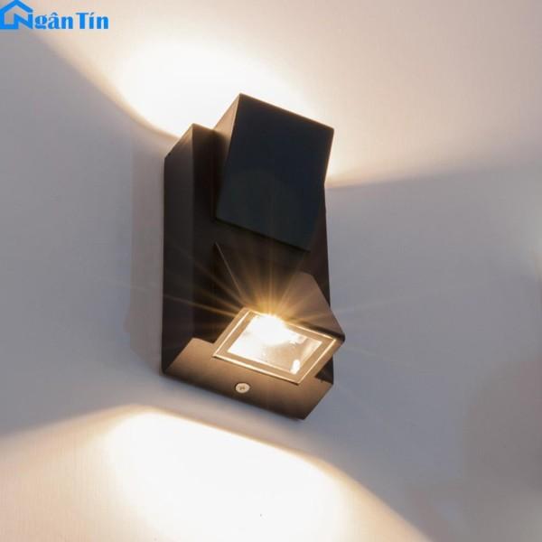 Bảng giá Đèn Led treo tường gắn tường ngoài trời trong nhà Led 10W VNT613 Ngân Tín