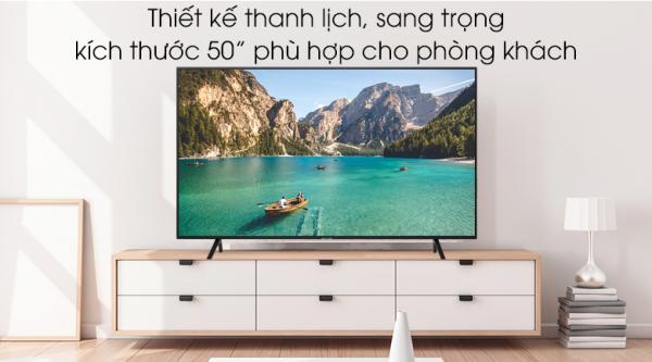 Bảng giá Smart Tivi Samsung 4K 50 inch UA50RU7200 2019