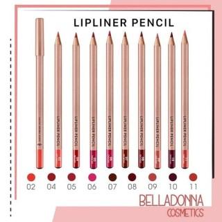 [ Nhiều Màu ] Chì Kẻ Viền Môi Hàn Quốc Vacosi Natural Studio Lipliner Pencil thumbnail