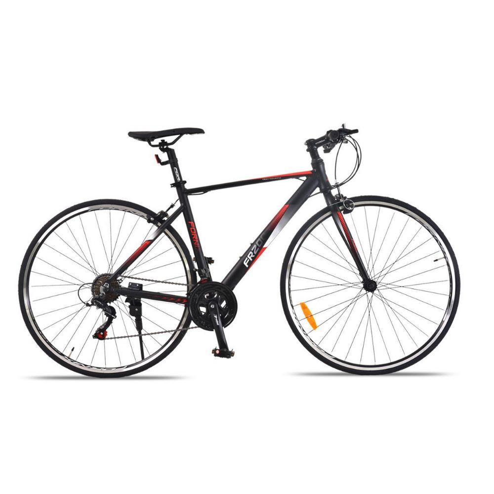 Mua Xe đạp đường trường đua FR200 màu đỏ đen lịch lãm