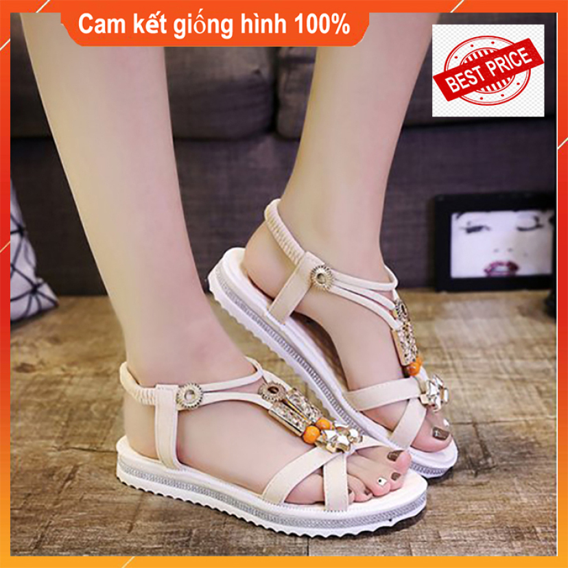 Giày Dép Sandal Giày Nữ Quai Ngang Nữ Giày Quai Hậu giá rẻ