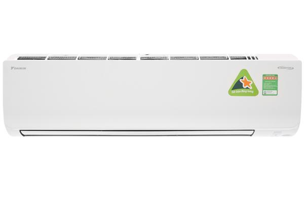 Máy lạnh Daikin Inverter 2.0 HP FTKM50SVMV - Công suất làm lạnh 17.700 BTU, Mắt thần thông minh, Công nghệ làm lạnh nhanh Powerful
