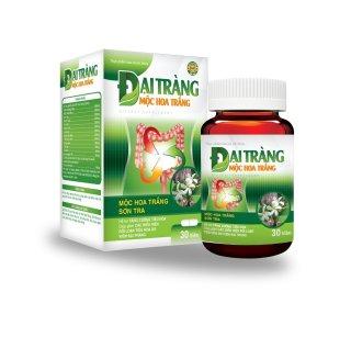 Viên Uống Đại Tràng Mộc Hoa Trắng Sơn Trà- hỗ trợ làm giảm các triệu chứng viêm đại tràng, rối loạn tiêu hóa, kích thích tiêu hoá. thumbnail