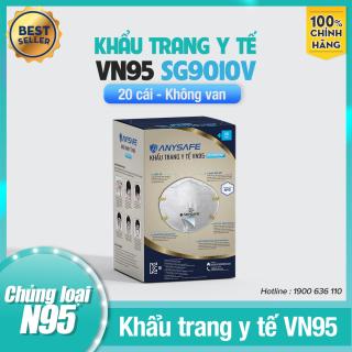 Khẩu Trang Y Tế VN95 Lọc Khuẩn SG9010V (không van) Chính Hãng - Dùng Trong Phòng Dịch, Y Tế - Chứng Nhận ISO 9001, ISO 13485 - Hộp 10 Chiếc thumbnail