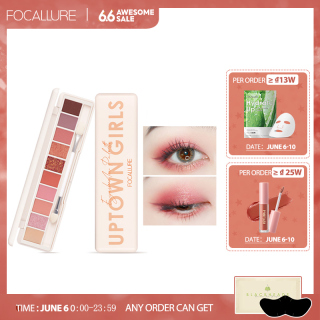 FOCALLURE 10 COLOR EYESHADOW PALETTE thumbnail