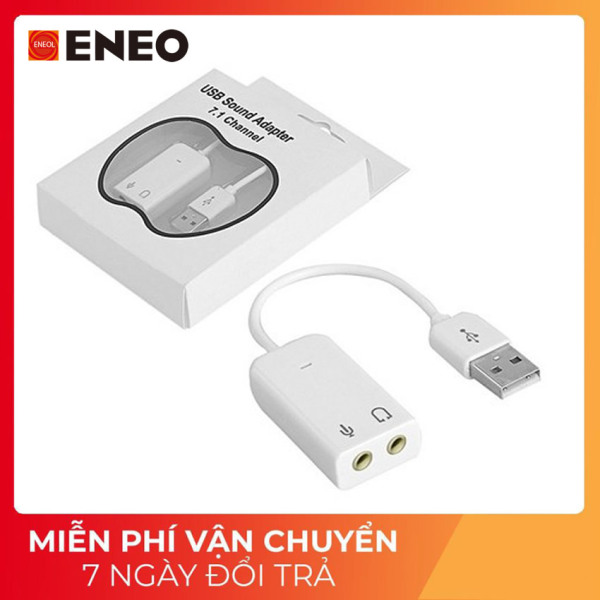 Bảng giá USB SOUND ADAPTER 7.1 CHANEL - USB Ra Âm Thanh 3D 7.1 Channel Phong Vũ