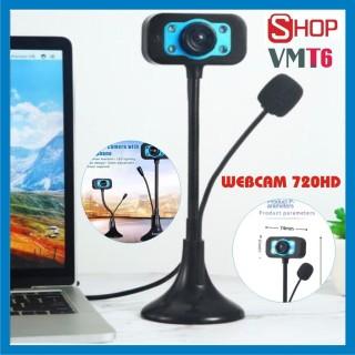 Webcam bàn 720p HD - Siêu nét đàm thoại dạy học và học trực tuyến - Bảo hành 12 tháng thumbnail