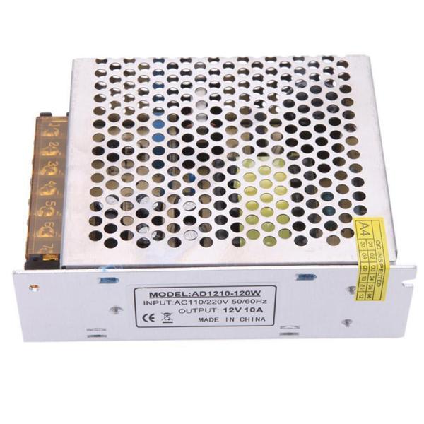 AC 110/220V to DC 12V 10A 120W Voltage Transformer Switch Power Supply NEW