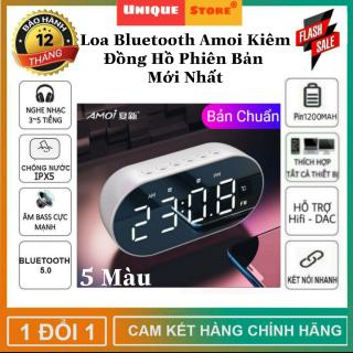 Được Chọn Màu - Loa Bluetooth, Loa Bluetooth Mini Amoi Kiêm Đồng Hồ, Âm Bass Cực Mạnh, Hỗ Trợ Mọi Dòng Máy - Loa Bluetooth Karaoke, Loa Vi Tính Bluetooth Không Dây - Loa Gương, Loa Đồng Hồ thumbnail