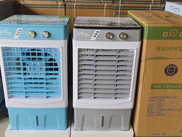 (Freeship toàn quốc)-Quạt điều hòa 40L thương hiệu COLD SUMMER- Máy làm mát không khí 40L giải pháp thay thế điều hòa dùng trong không gian mở- Quạt điều hòa hơi nước tiết kiệm điện- Bảo hành 1 năm