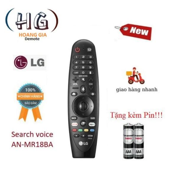 Bảng giá Remote Điều Khiển Tv Lg An-Mr18Ba Giọng Nói - Hàng Mới Chính Hãng 100% Free Ship + Tặng Kèm Pin
