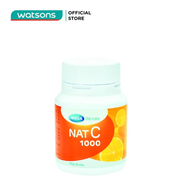 Thực Phẩm Bảo Vệ Sức Khỏe Nat C 1000 30 Viên