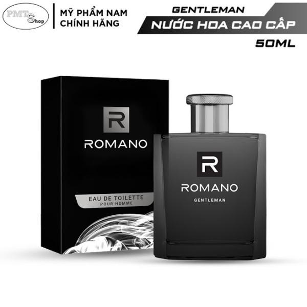 Nước hoa cao cấp Romano Gentleman 50ml lịch lãm nam tính