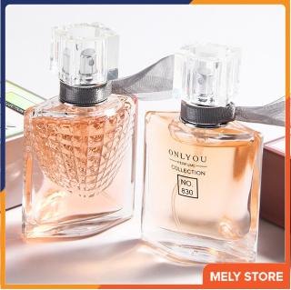 Nước hoa nữ mini thơm lâu quyến rũ ONLYOU mang đến một cảm nhận tươi mát, mùi hương ngọt ngào quyến rũ, dạng xịt, nhỏ gọn bỏ túi được, xịt toàn thân, nước hoa nữ cao cấp chính hãng thơm lâu dịu nhẹ 30ml Melystore MP025 thumbnail